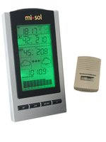 weather station - wireless Weather Station wireless thermometer with Outdoor Temperature and humidity sensor LCD display Barometer
