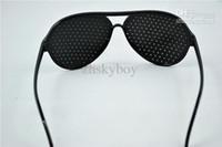 Wholesale Vision Care Pinhole Spectacles Astigmatism Eyesight Improve Eyes Glasses Eyewear Brand