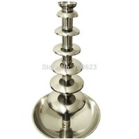 Wholesale Germany Quality Full Stainless Steel Commercial Chocolate Fountain Machine100CM Tier Free Fedex Shipping