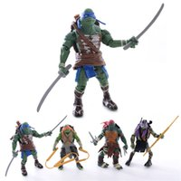 Wholesale 4PCS for Set Cartoon Animation Collection for Hallowmas Gifts Teenage Mutant Ninja Turtles for Gifts CM LN