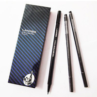 Cheap Fashion LANDBIS Makeup Eyeliner Liquid Pen Eye Liner Pencil Waterproof Super Slim 0.1mm Black Liquid Eyeliner Hot Sale Liner Combination