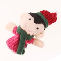 Cheap Wholesale-sale!Finger Puppet Dolls Toys Story-telling Props Tools Toy Model Babies Kids Children Toys