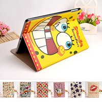Wholesale protective case for ipad ipad air leather case shell cover cartoon models good quality