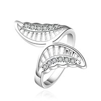 Wholesale 925 silver ring s925 wedding rings for women new fashion animal punk style ring PCR544