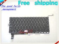 Wholesale 95 NEW FOR MacBook Pro quot A1286 Unibody US Keyboard Black