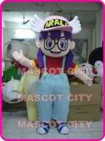 arale costume - Good Quality Hot Cartoon Character Arale Mascot Costume Adult Size Cartoon Character Arale Mascotte Outfit Suit Cosply Carnival