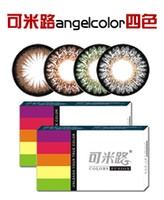 Wholesale KML angelcolor colors Produced by Korea factory Popular cosmetic contact lenses colored contact lenses pair