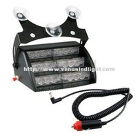 Wholesale super bright x Amber White LED x Mode Interior Emergency Deck Dash Flash Strobe Lights