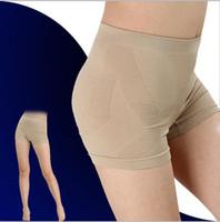 Cheap Women High Waist Slimming Shorts Shaper Pants Slim Thigh Shorts Shapewear Tummy Postpartum Pelvic Correction Shaping Shorts LJJE336 100pc