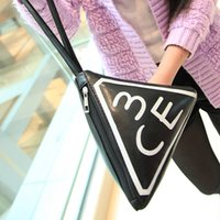 Cheap Korea stylenanda 3CE fashion portable triangle bags