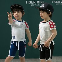 Cheap boy sports suits Best baby boy clothing set