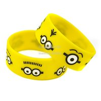 Wholesale Despicable Me Minions Silicone Bracelet