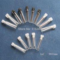 Tester perfume Prix-100 / lot 1 ml parfum mini flacon en verre, Petites fioles d'échantillons de parfum, testeur de parfum bouteille