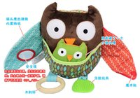 Wholesale baby toys Multifunctional baby doll toy owl farm appease mother owl Else doll Farm toy