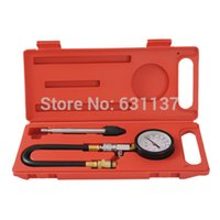 Wholesale Petrol Engine Cylinder Quick Disconnect Compression Compressor Measure Test Tester Diagnostic Diagnosis Tool Set
