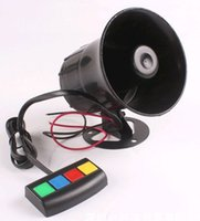 Wholesale V w Universal Motorcycle Quad Tones horn Auto Vehicle Van Sound horn Tone Loud Horn
