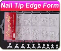 accurate french - Different Size Precision Nail Art Acrylic Artificial Accurate False French Tips Edge Form