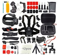 bar chest - GoPro suit accessories bar chest strap backpack clip headband buoyancy suit GoPro camera accessories set for gopro camera xiaomi yi