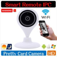 Wholesale 720P HD IP Camera Wifi Wireless TF Card Storage Night Vision Network Security CCTV Family Defender H P2P Security Surveillance Cameras