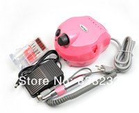 Wholesale Electric Nail Drill Art Equipment Glazing Manicure Machine Bits Kit Tools With Foot Pedal