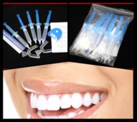 Cheap 20Packs lot Teeth Whitening 35% Peroxide Dental Professional Bleaching System Gel 50ML Kit MY316