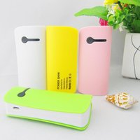 Cheap The new small pretty waist Mobile power 5600 mah general mobile mini baodai multi-functional mobile charging power supply is compatible