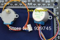 Wholesale 2pcs DC Stepper Motor Module line Phase Reduction Gear Step BYJ V