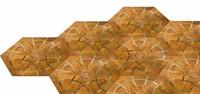 Wholesale Sapele wood floor Private Copper wood floor Mosaic floor Combination floor High end custom floor Design House floor Jade inl