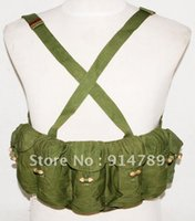 ammo pouch - SURPLUS VIETNAM WAR CHINESE TYPE AUTO CHEST RIG AMMO POUCH