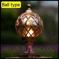 Al por mayor (WECUS) el envío libre, las luces de la pared / estigma / hall, tipo bola, serie europea, sin fuente de luz, XJ-HWD0037