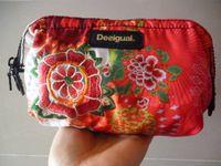 Wholesale 2015 New national wind embroidered flowers Spain desigual brand wallet c handbag