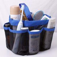bath shower doors - Shower Bath Mesh Caddy Cosmetics Organizer Tote Bag Storage Buggy Bag Pouch Case