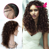 Wholesale Brazilian Hair Curly Lace Wig With Baby Hair Cheap Full Lace Wigs For Black Women Inch Virgin Brazilian Lace Front Wigs