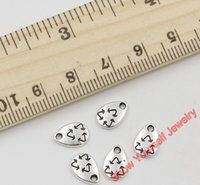 alloy recycling - 30pcs Antique Silver Plated Zinc Alloy Recycle Charms Pendants for Jewelry Making DIY Handmade Craft x7mm Jewelry making DIY