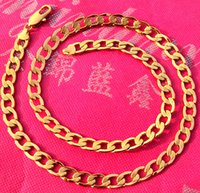 10k gold chain - best buy fine yellow gold jewelry Thick Italian Curb Chain Men s K Yellow Gold GF Necklace MM Width in
