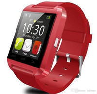 Wholesale U8 Smart Watch Bluetooth Phone Mate Smartwatch Wrist for Android iOS for S S plus for S6 S5 Note