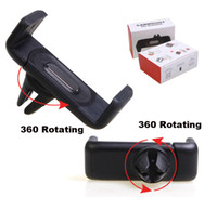360 - 360 Degree Universal Mini Car Air Vent Clip Mount Holder Rotating for Cellphone phone iPhone quot S S