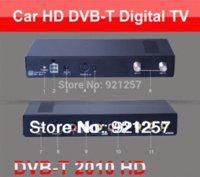 Cheap 250KM H Car DVB-T MPEG4 H.264 TV tuner 2PVR USB Record TDT TNT HDMI car tv box TV receiver digital tv box wireless