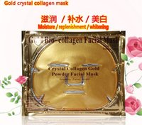 beautiful treatment - Gold Crystal Collagen mask Gold Bio Collagen Facial Mask Face Masks moisture replenishment whitening mask peels beautiful skin care make up