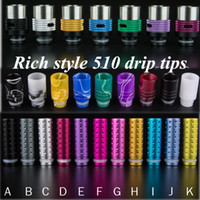 aluminum friction - Muffler Drip tip friction delrin mouthpiece stainless steel metal drip tip aluminum acrylic drip tip Stainless steel metal