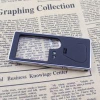 Compra Led magnifier-Multifuncional 3X/10X Lupa de teléfono Móvil de Diseño de Tarjeta con 4 Luces LED de 1 UV Dinero Detección de Mini Pluma de la Herramienta de Lupa E0298