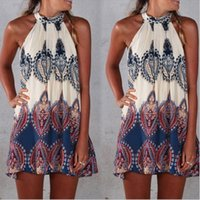 Casual Dresses beachwear dresses - New Summer Womens Ethnic Floral boho dress Swimwear Beachwear Bikini Beach Wear Cover Up Kaftan Summer Boho Dress