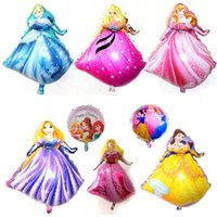 aluminium gas - 90cm cm helium gas for balloons party balloons Princess Sofia wedding birthday party decoration personalized cartoon character balloons
