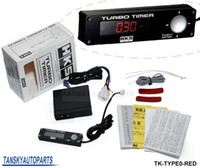 Wholesale High Quality HKS Turbo Timer for car light color red other color white blue original box TK TYPE0 RED
