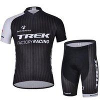 Wholesale trek custom bicycle jersey hot sale montain road short sleeve cycling bike wear