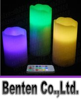 Wholesale new LED candle wireless remote control lights wedding favors gifts event party supplies LLFA2398F