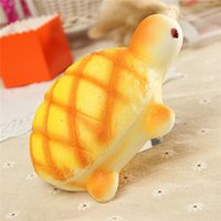 Wholesale high quality material Jumbo Super Soft pretty Turtle Squishy Wrist Rest Bread Packing Baby Love as presents