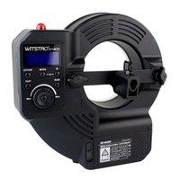 Wholesale DHL Godox WITSTRO AR400 Powerful Ring Flash Ws Strobe Flash Speedlite LED Light E5186A