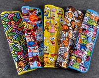 Wholesale 40PCS Cartoon velvet Infant changing diapers mat Baby Infant Travel M L XL covers waterproof pad mattress washable urine pad bed sheet T3358