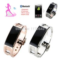 Wholesale Smart Wrist Watch D8 Stainless Sports Smartwatch Bluetooth Whatch Band With Sleep Monitor Pedometer Reminder Anti Lost For Phone